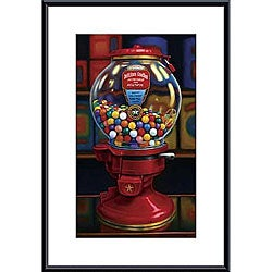 TR Colletta 'Gumball Machine IV' Metal Framed Art Print