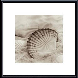 Alan Blaustein 'La Mer 3' Metal Framed Art