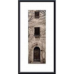 Alan Blaustein 'La Porta Via, Volterra' Metal Framed Art Print