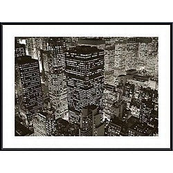 Michael Kenna 'Mary Poppins over Midtown, NY 2006' Framed Print
