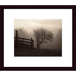 Christine Triebert 'Mountain Meadow Farm' Wood Print