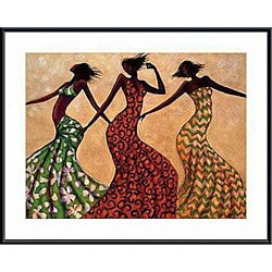 Monica Stewart 'Rhythm' Framed Art Print