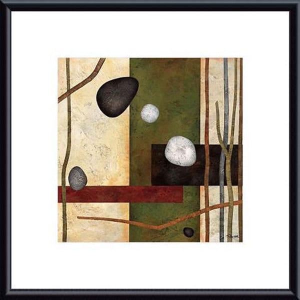 Glenys Porter 'Sticks and Stones VIII' Framed Art Print