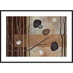 Glenys Porter 'Sticks and Stones IV' Small Framed Art Print