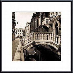 Alan Blaustein 'Ponti di Venezia No. 3' Framed Photo Print