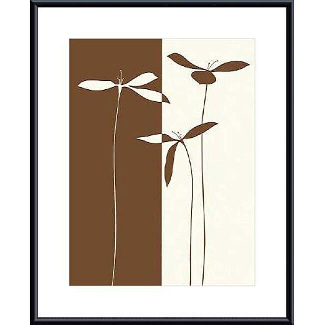 Studio Voltaire 'Petals I' Metal Framed Art Print