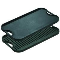 Lodge Logic LPGI3 Iron Reversible Pro Grill/Griddle