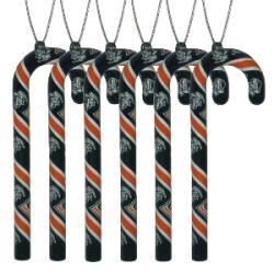 UTEP Miners 6-piece Candy Cane Ornament Set - Thumbnail 1