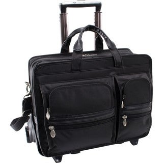 McKleinUSA Clinton P Series 58445 Detachable-Wheeled Laptop Case