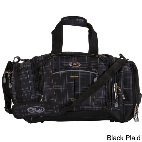 CalPak Silver Lake Plaid 22 Inch Carry On Duffel Bag