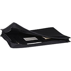 Royce Leather Black Leather Deluxe Envelopes (Pack of 2)