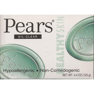 Pears 4.4-ounce Oil Clear Soap