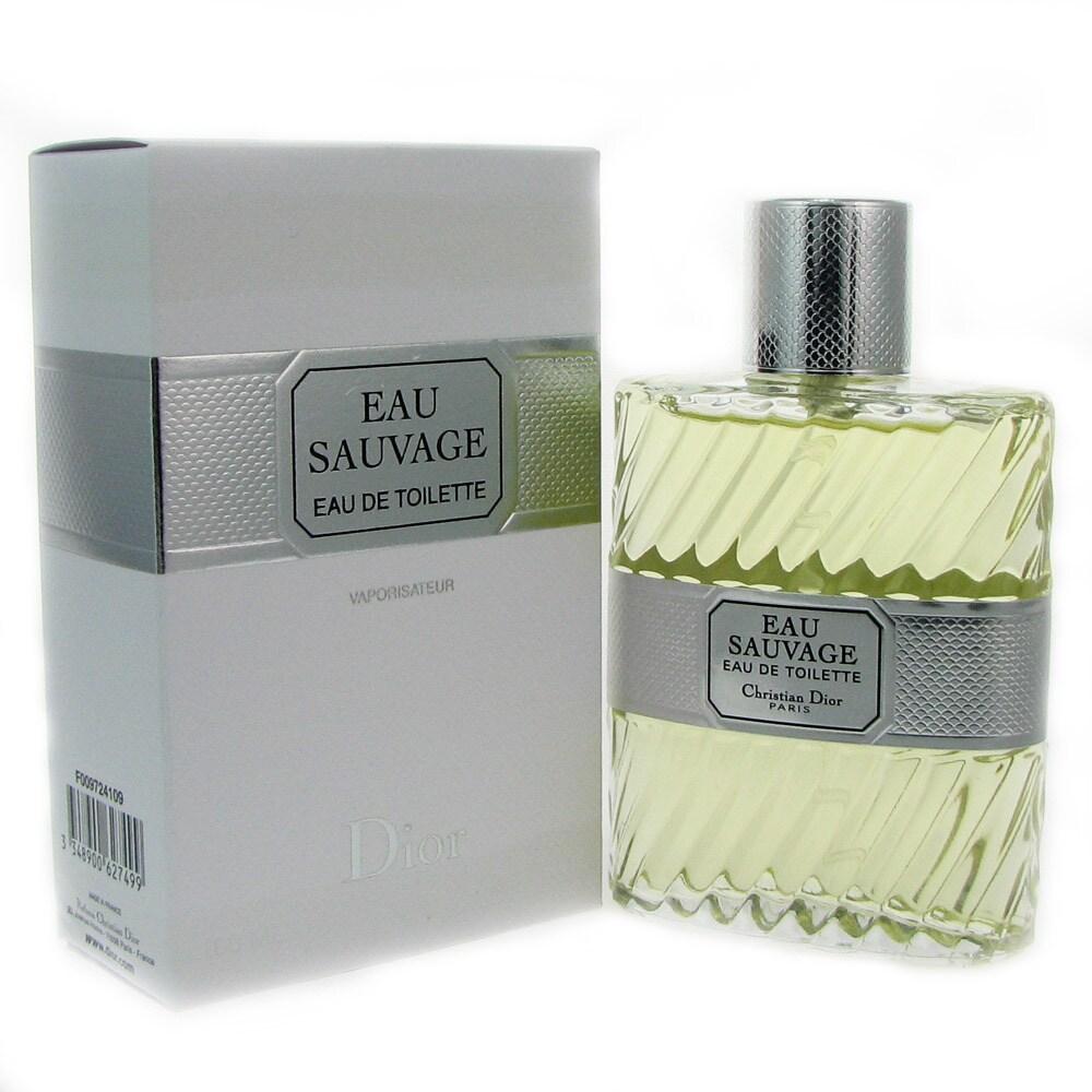 Christian Dior Eau Sauvage Men's 3.3-ounce Eau de Toilett...