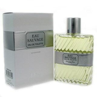 Christian Dior Eau Sauvage Men's 3.3-ounce Eau de Toilette Spray