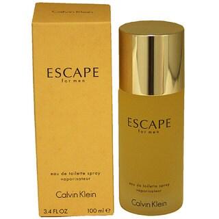 Calvin Klein Escape Men's 3.4-ounce Eau de Toilette Spray