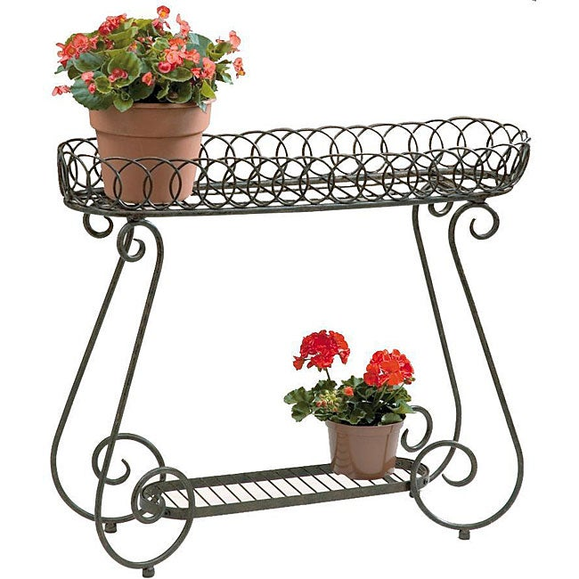 Shop Deer Park Ironworks Oval Ring Planter Free Shipping Today