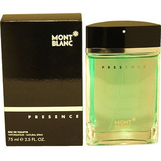 Mont Blanc Presence Men's 2.5-ounce Eau de Toilette Spray