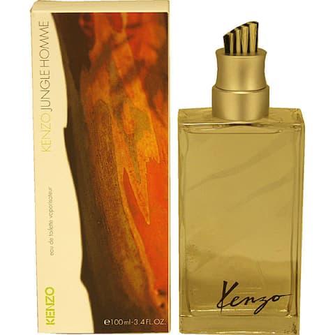 Kenzo Jungle Men's 3.4-ounce Eau de Toilette Spray
