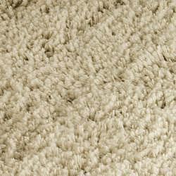 Safavieh Classic Ultra Handmade Taupe Shag Rug (4' Round) - Thumbnail 2