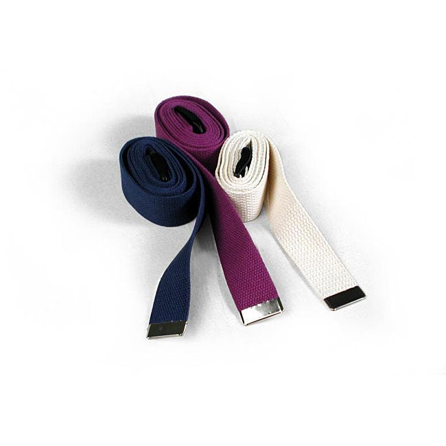Cotton-webbing 72-inch Yoga Strap Sports Accessory
