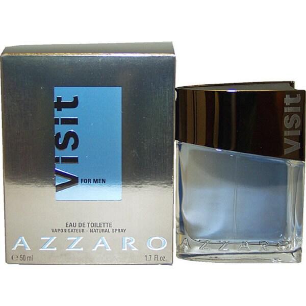 Shop Azzaro Visit Mens 17 Ounce Eau De Toilette Spray Free