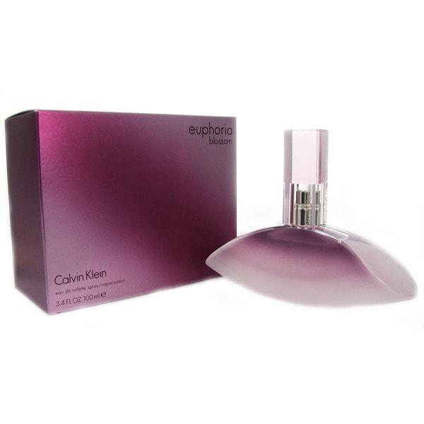 Calvin Klein Euphoria Blossom Women  x27 s 3.4-ounce Eau de Toilette Spray 4468d2733f
