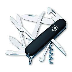 Victorinox Swiss Army Huntsman Black Pocket Knife - Thumbnail 2