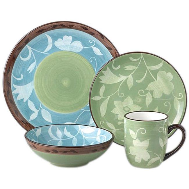 Pfaltzgraff Patio Garden 32-piece Dinnerware Set