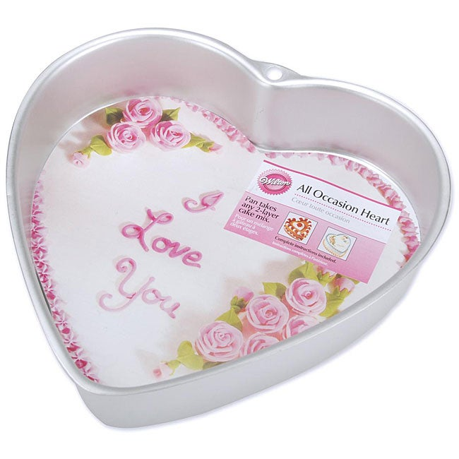 shop wilton heart shape cake pan free shipping on orders over 45