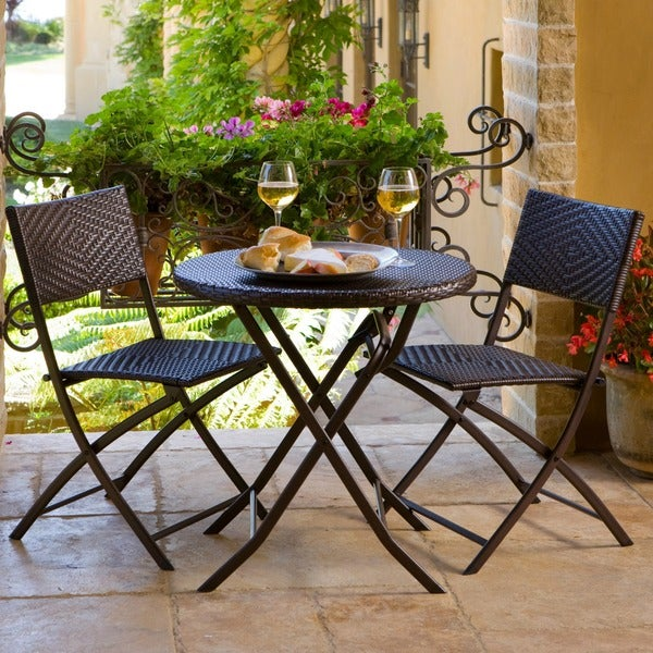 RST Cantina Bistro 3 Piece Folding Dining Set   Free Shipping Today    Overstock.com   12369987
