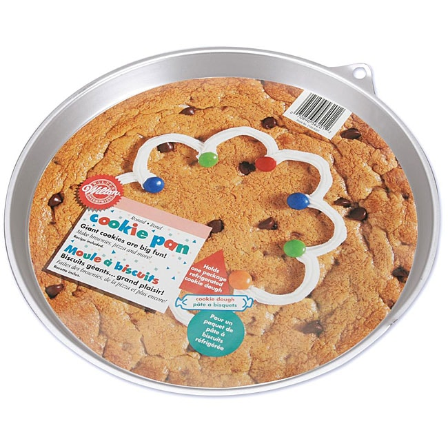 Shop Wilton 10 5 Inch Round Cookie Pan Free Shipping On
