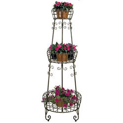 Deer Park Ironworks 3-tier French Planter