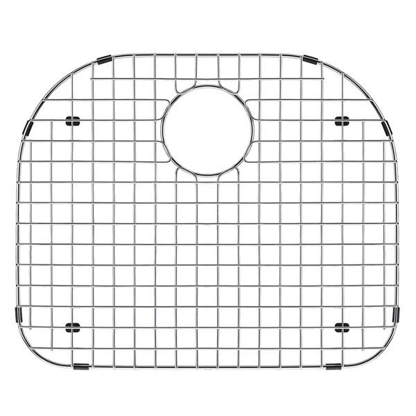 VIGO Chrome 19 3/8 x 16 3/4 inches Kitchen Sink Bottom Grid