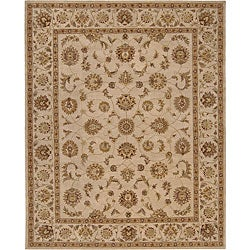Nourison Hand-tufted Heriatge Hall Ivory Wool Rug (12' x 15')