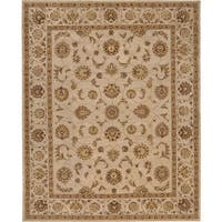 Nourison Hand-tufted Heriatge Hall Ivory Wool Rug (12' x 15') - 12' x 15'