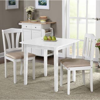 porch den third ward michigan 3 piece dining set - Square Dining Room Table Sets
