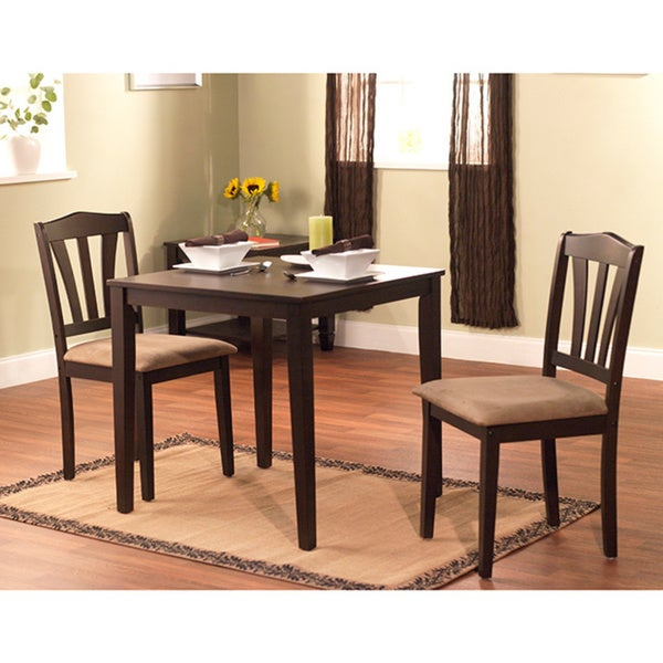 Cheap Dinette Sets Free Shipping: Simple Living Montego 3-piece Dining Set