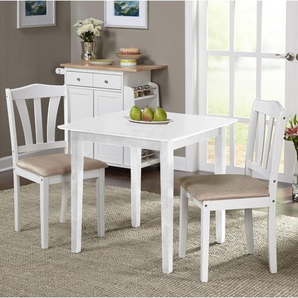 3 Piece Dining Room Set: Simple Living Montego 3-piece Dining Set