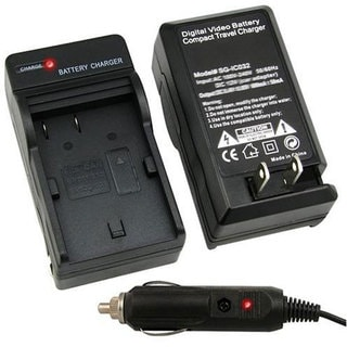 INSTEN Compact Battery Charger Set for Canon BP-511