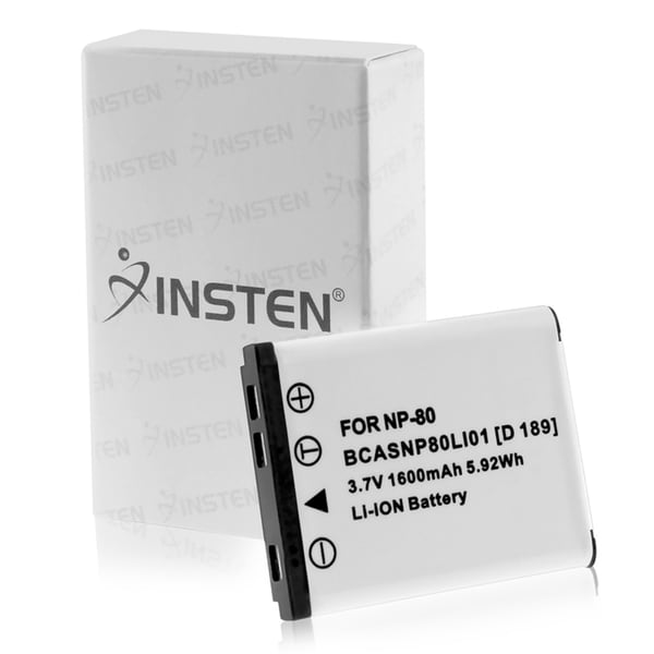 INSTEN Li-lon Battery for Casio NP-80