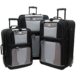Geoffrey Beene Carnegie 3-piece Expandable Luggage Set