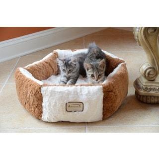 "Armarkat Plush Round Pet Bed 20"" x 20"""