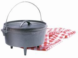 Texsport 8-quart Cast Iron Dutch Oven