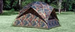 Texsport Headquarters Camouflage Square Dome Tent - Thumbnail 1