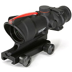 Trijicon 4x32 Illuminated Red Chevron .223 Reticle Advanced Combat Optical Gunsight
