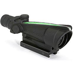 Trijicon 3.5x35mm ACOG with Illuminated Green Chevron .308 Reticle