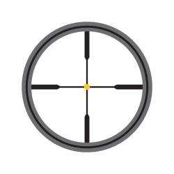 Trijicon AccuPoint 5-20x50 Amber Dot Crosshair Rifle Scope - Thumbnail 2