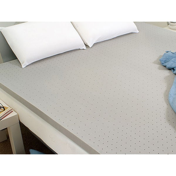 Dream Form 2 5 inch Memory Foam Mattress Topper Free