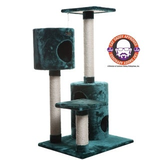 Armarkat Dark Green Condo Cat Tree