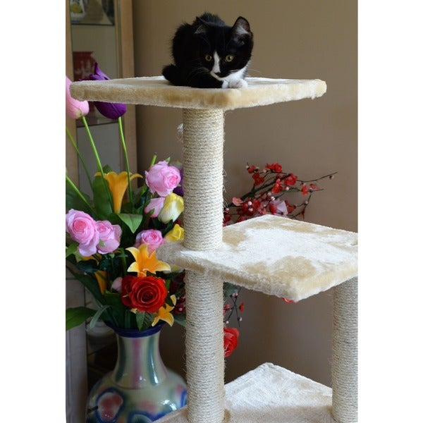Armarkat Cat Tree Pet Furniture Condo   Free Shipping Today   Overstock.com    12374050